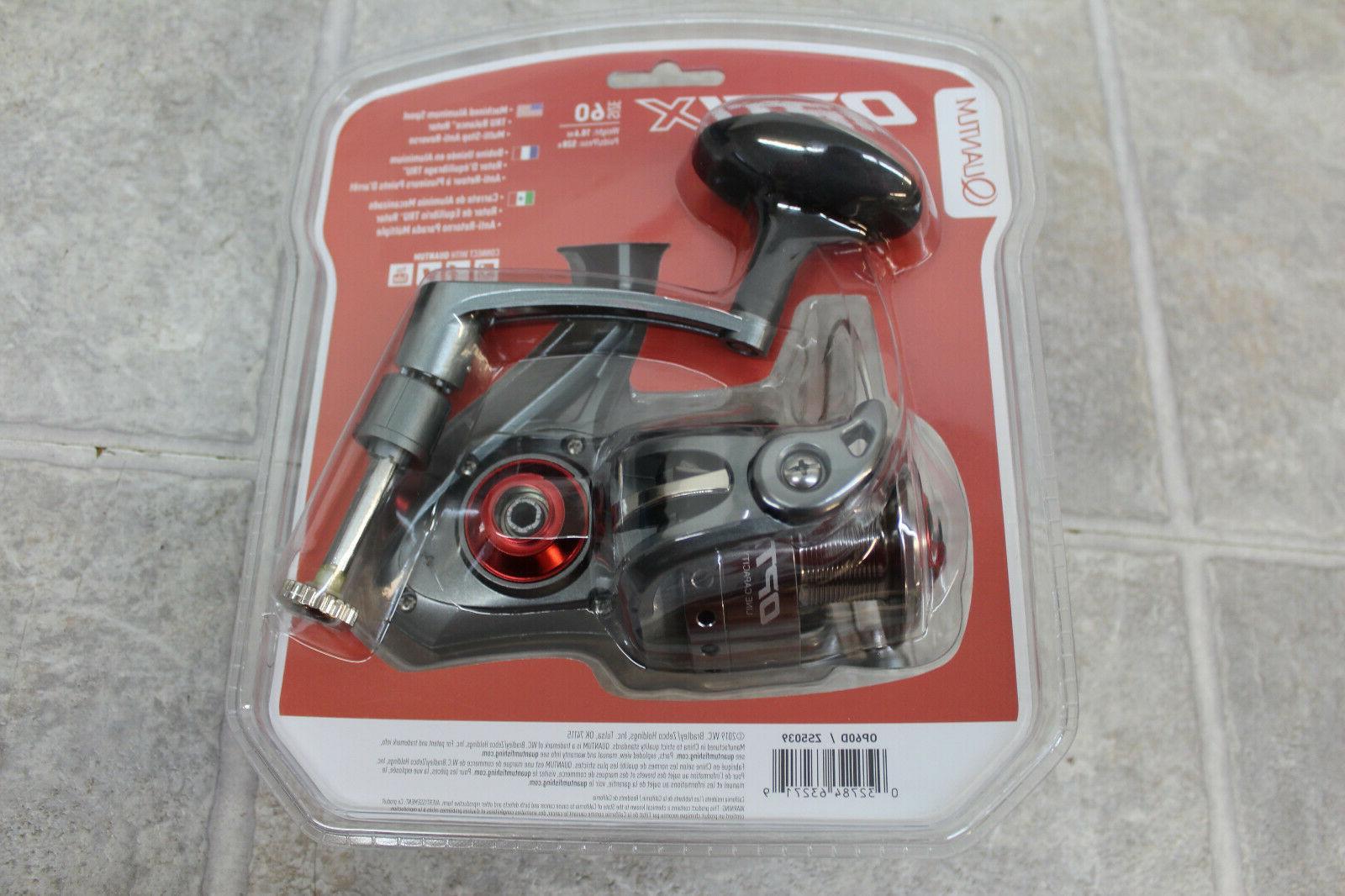 Quantum Optix Size 60 4.9 1 Gear Ratio 4 Bearings Spinning Reel Op60d for sale online
