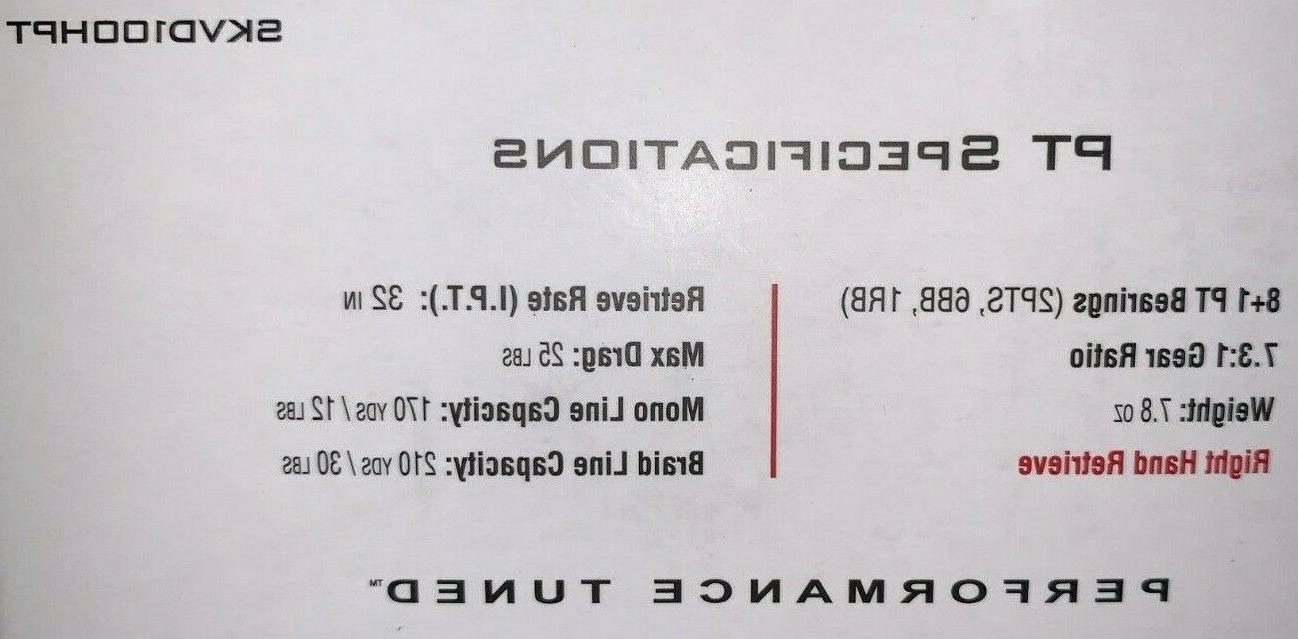 QUANTUM S3 SKVD100HPT 7.3:1 REEL