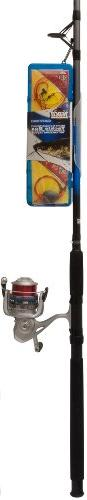 Zebco Fishing Ready Tackle Spinning Combo