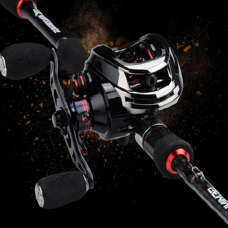 KastKing Legend High Reel to LB Drag
