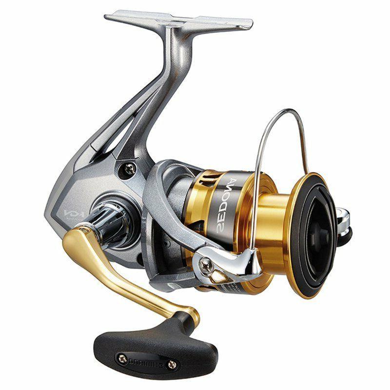 Shimano Spinning Fishing Reel, 2500FI, High Gear