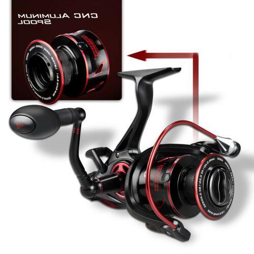 KastKing Sharky Baitfeeder III 3000 Spinning Reel Live Liner