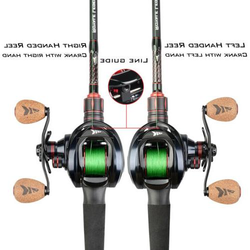KastKing Spartacus Baitcasting Reel 17.5 Drag 6.3:1 Gear Ratio