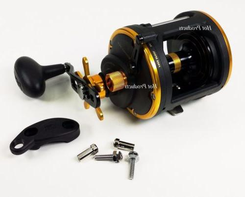 squall 30lw conventional levelwind saltwater fishing reel