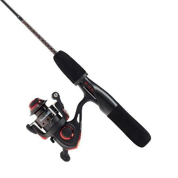 Ugly Stik GX2 Ice Fishing Rod and Spinning Reel Combo