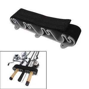 vertical mount rod holder storage