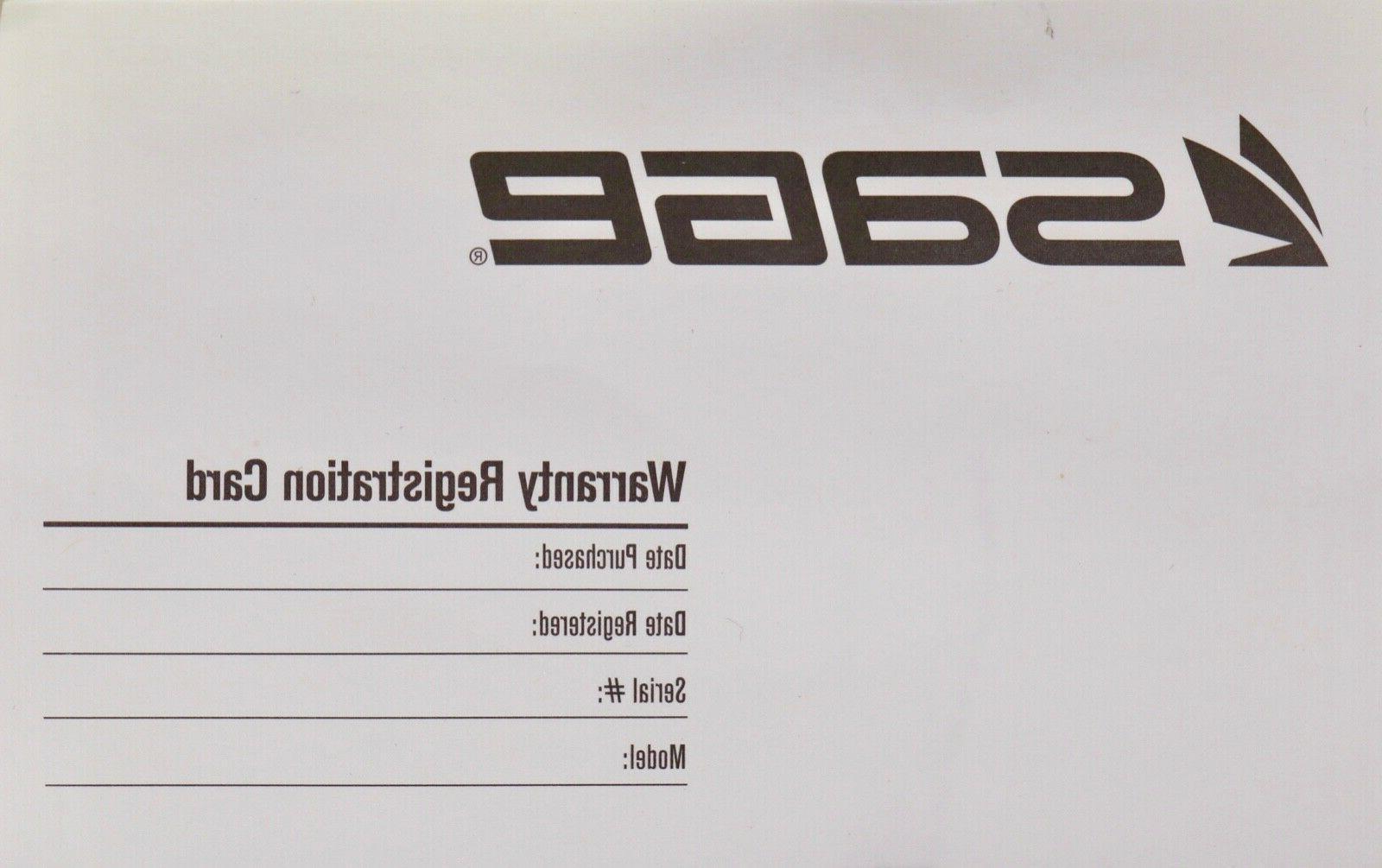 Sage Fly 9 FT 4 - FREE - FREE