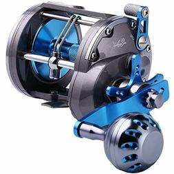 Sougayilang Line Counter Trolling Reel Conventional Level Wi