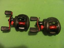 LOT OF 2 ABU GARCIA Blackmax3  Low Profile right-handed Bait
