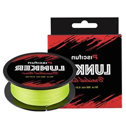 Piscifun Lunker Braided Fishing Line Yellow 40lb 547yards