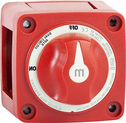 Blue Sea Systems m-Series Mini Dual Circuit Battery Switch -