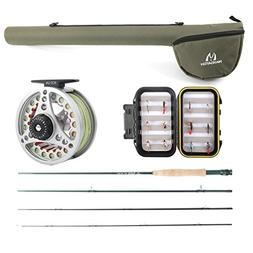 M MAXIMUMCATCH Maxcatch Extreme Fly Fishing Combo Kit 6 Weig