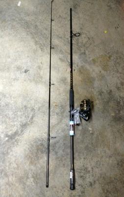 NEW PENN 10' BATTLE II SPINNING COMBO 20-40LB FISHING ROD &