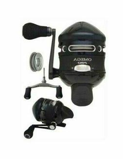 New Zebco OMEGA PRO Professional 7BB Spincast Reel With Alte