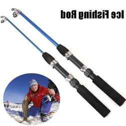 New Portable Spinning Winter Reels Ice Fishing Rods Pen Pole