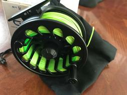 NEW Ross rapid fly reel 7/8 Loaded wf8f line ,backing Free s