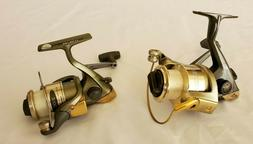 Pair of Fresh Water Spinning Fishing Reel, FLW and Shimano -