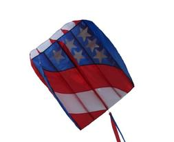 In the Breeze Patriot Wave 7.5 Parafoil Kite