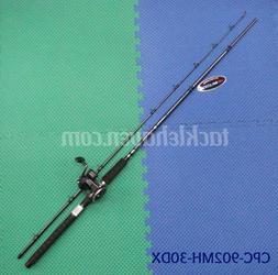 OKUMA Salmon Trolling Rod/Reel Combo