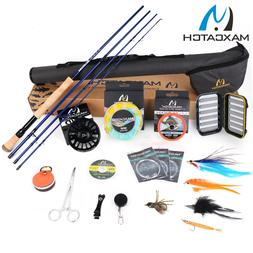 Maxcatch Saltwater Fly Rod and Reel Combo Full Kit 9FT Fishi