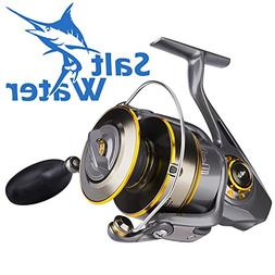 Spinning Reel Saltwater Fishing Reels for Inshore Beach Surf