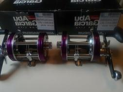 Set of ABU Garcia Ambassadeur 6500 & 6501 CS Shogun Reels, J