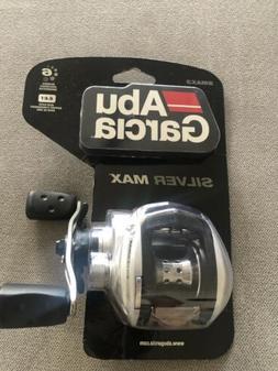 ABU GARCIA SILVER MAX SMAX3 LOW PROFILE BAITCASTING FISHING
