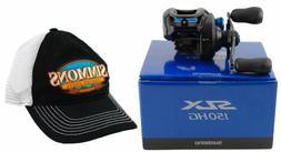 SHIMANO SLX 150, Extra High Gear, Low Profile Baitcasting Fi