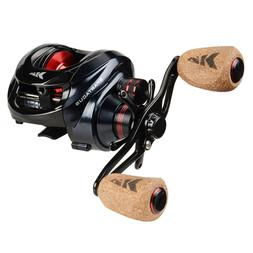 KastKing Spartacus Baitcasting Fishing Reel 17.5 LB Carbon D
