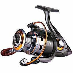 Spinning Fishing Reels with Left/Right Interchangeable Colla