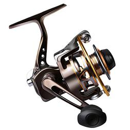 Goture Small Spinning Fishing Reel Collapsible Handle and Me