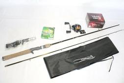 Sport Combo- Baitcaster Rod+10BB Baitcaster Reel+Free PowerP