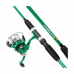 Wakeman Swarm Series Spinning Rod and Reel Combo Green Metal