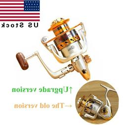 US 10BB Bearing Saltwater Fishing Spinning Reel Left/Right H