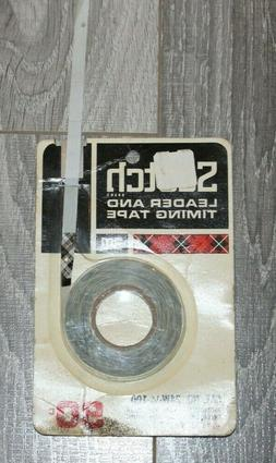 Vintage SCOTCH 3M 24W-1/4-100 Leader and Timing Tape for Ree