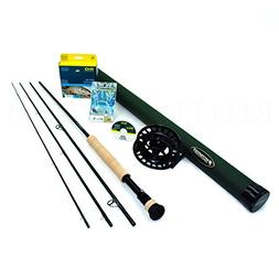 Sage X 597-4 Fly Rod Outfit  w/Sage 4250 Fly Reel