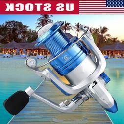 Spinning Fishing Reel YD500-YD6000 12BB Metal Spool Folding
